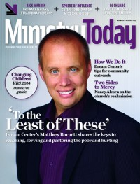 Ministry Today digital magazine November/December 2013 cover
