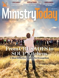 Ministry Today digital magazine March/April 2014 cover