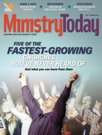 Ministry Today digital magazine July/August 2014 cover