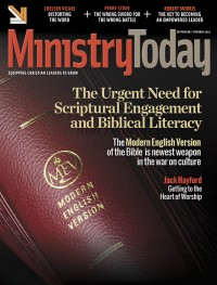 Ministry Today digital magazine September/October 2014 cover