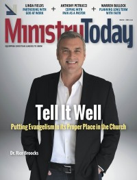 Ministry Today digital magazine March/April 2016 cover