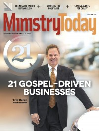 Ministry Today digital magazine May/June 2016 cover