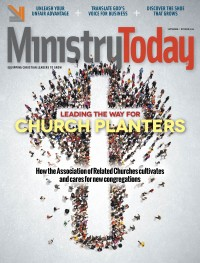 Ministry Today digital magazine September 2016 cover