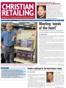Christian Retailing March 2012  cover